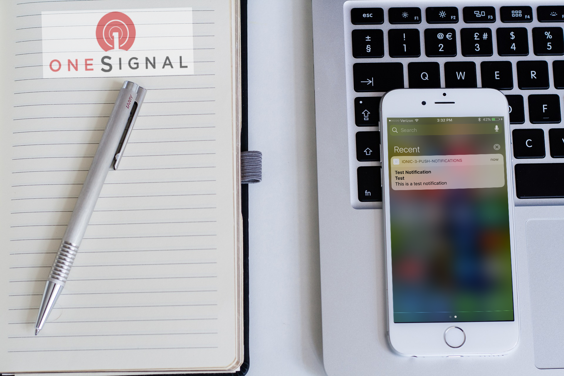 Ionic 3 Push Notifications One Signal - Ghadeer Rahhal's Blog